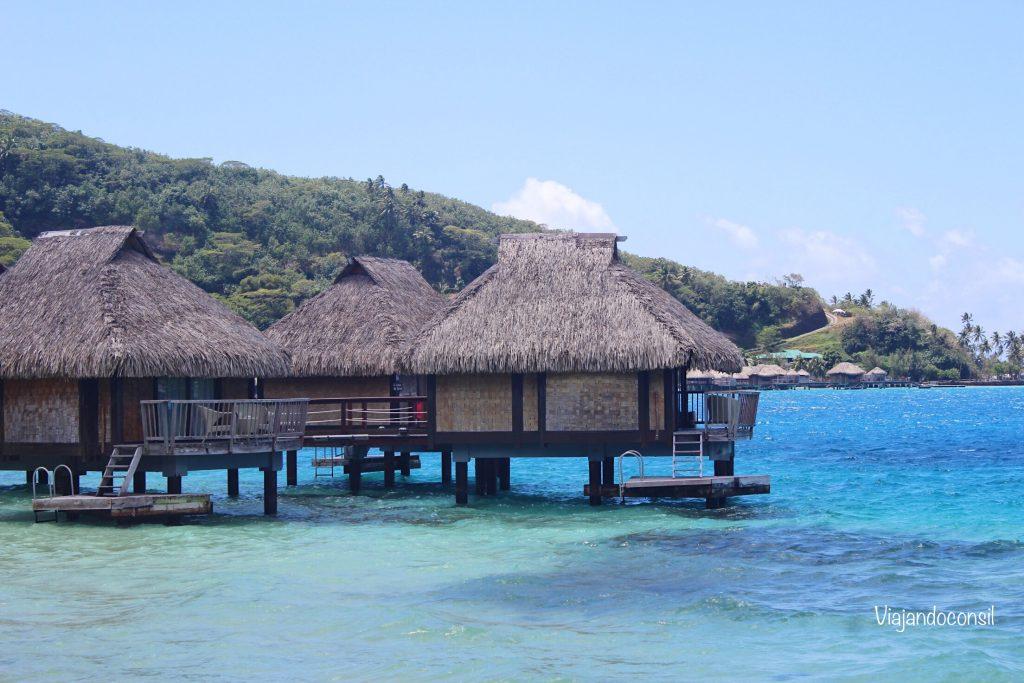 Bungalows-overwater-del-Maitai-Polynesia