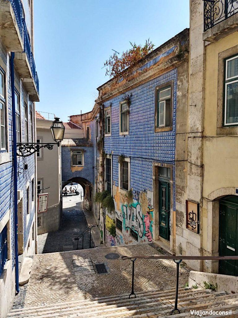 alt Alfama, el barrio más antiguo de Lisboa