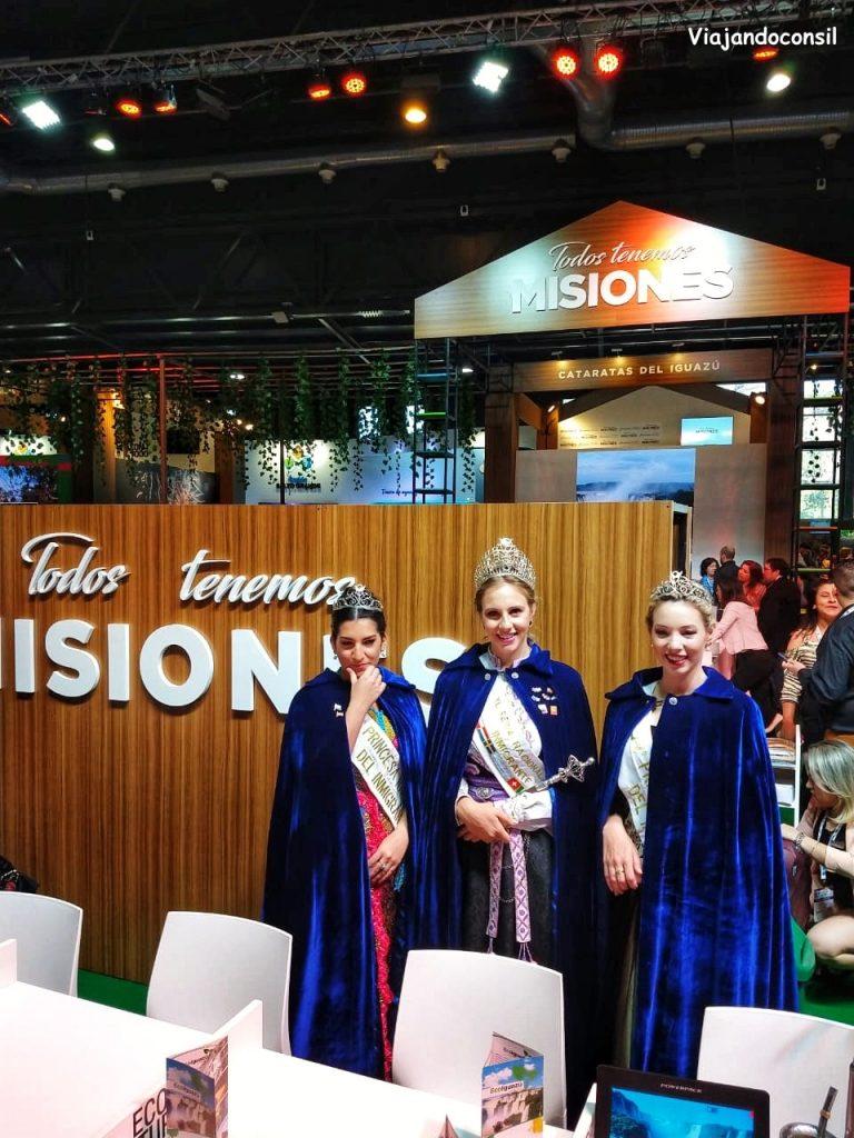 Misiones y sus reinas en FIT