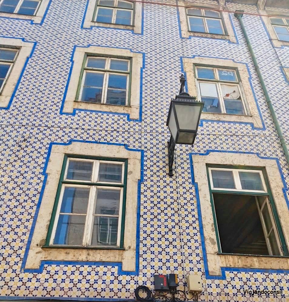 alt Casas azulejadas en Alfama