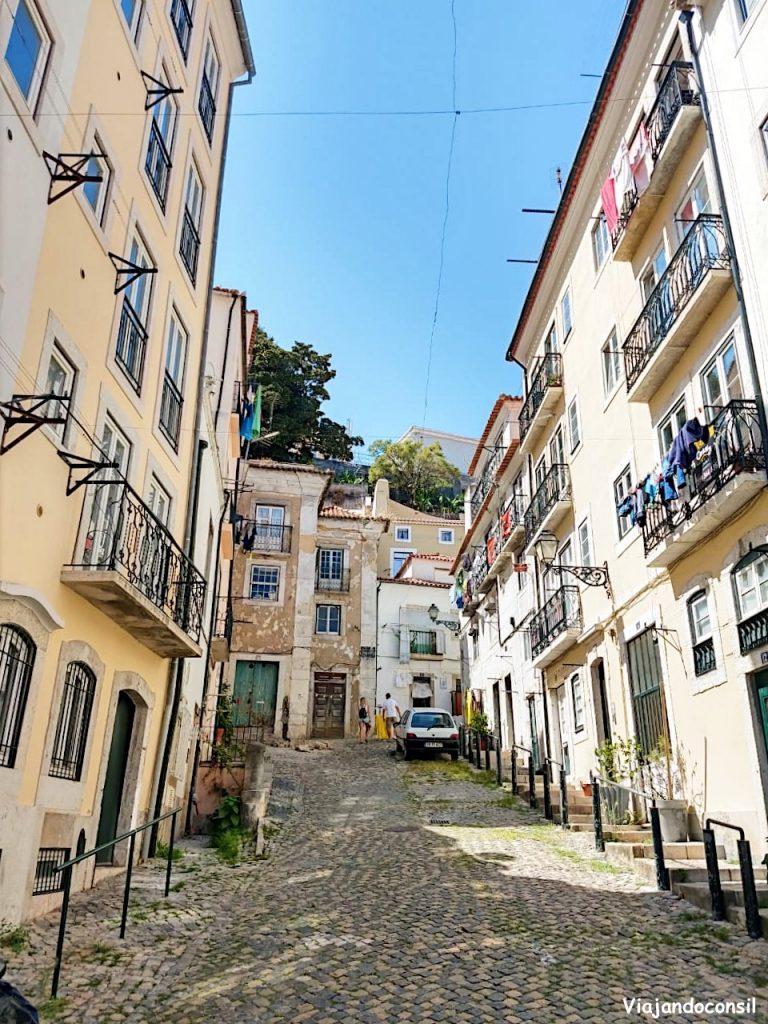 alt barrio de Alfama