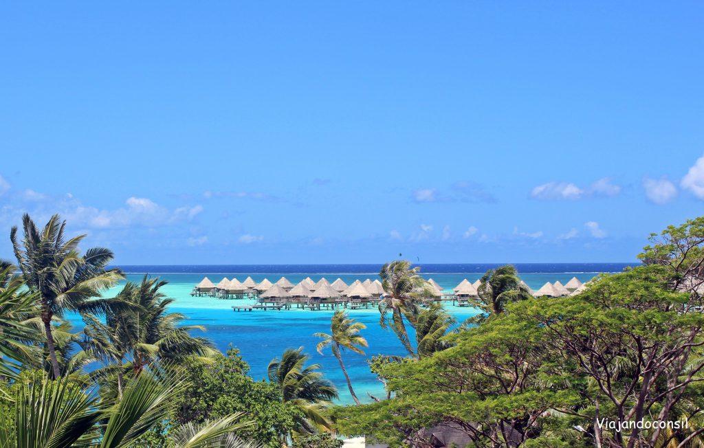 Bungalows overwater en Bora Bora