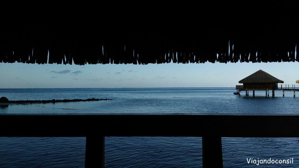 Vistas desde el Royal Huahine