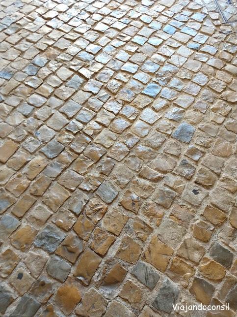 Calles de Lisboa y sus adoquines