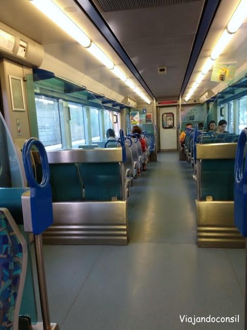 Vagón de Tren en Lisboa