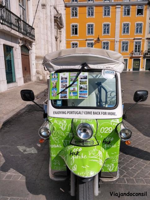 Tuk Tuk en Lisboa