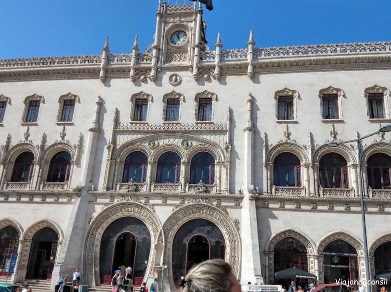 Estación en Lisboa
