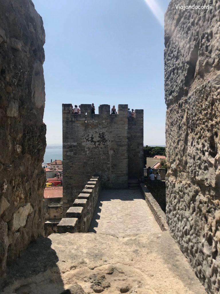 alt Castillo San Jorge en Alfama