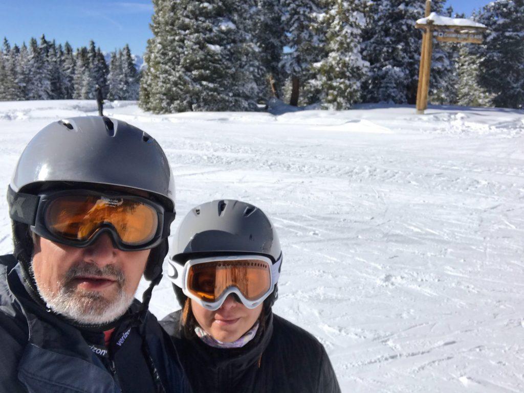 Esquiando en Vail
