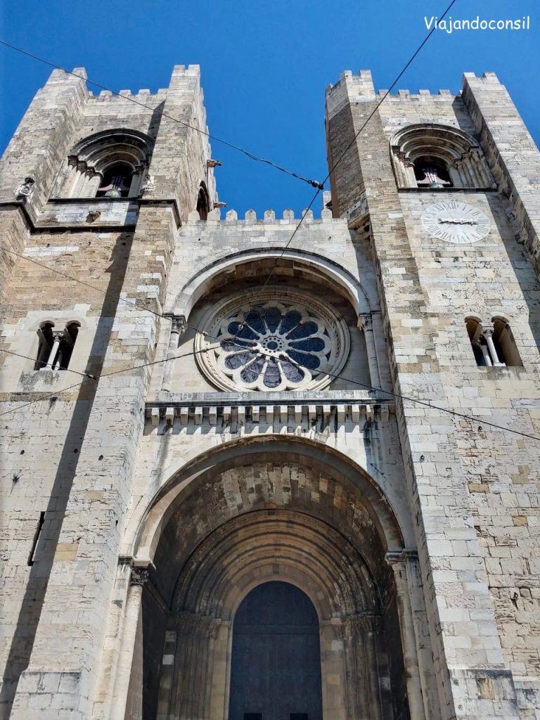 alt Sé de Lisboa en Alfama
