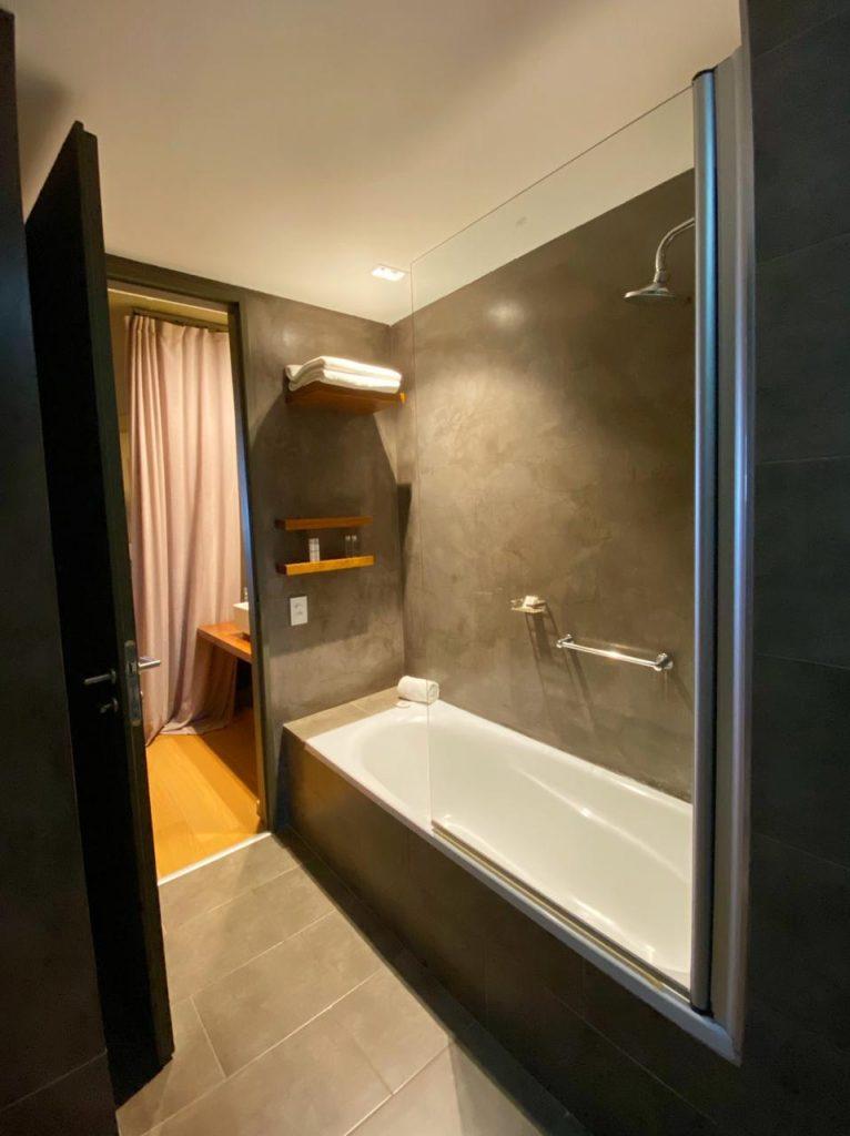 baño hotel en el calafate