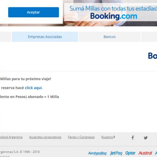 Socios AR Plus y Booking