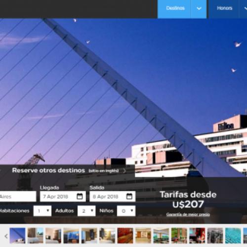 Web del Hilton