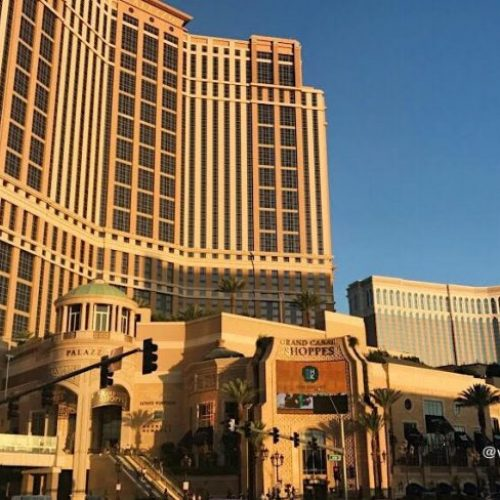 Hotel Palazo, Grand Canal Shoppes y elHotel Venetian