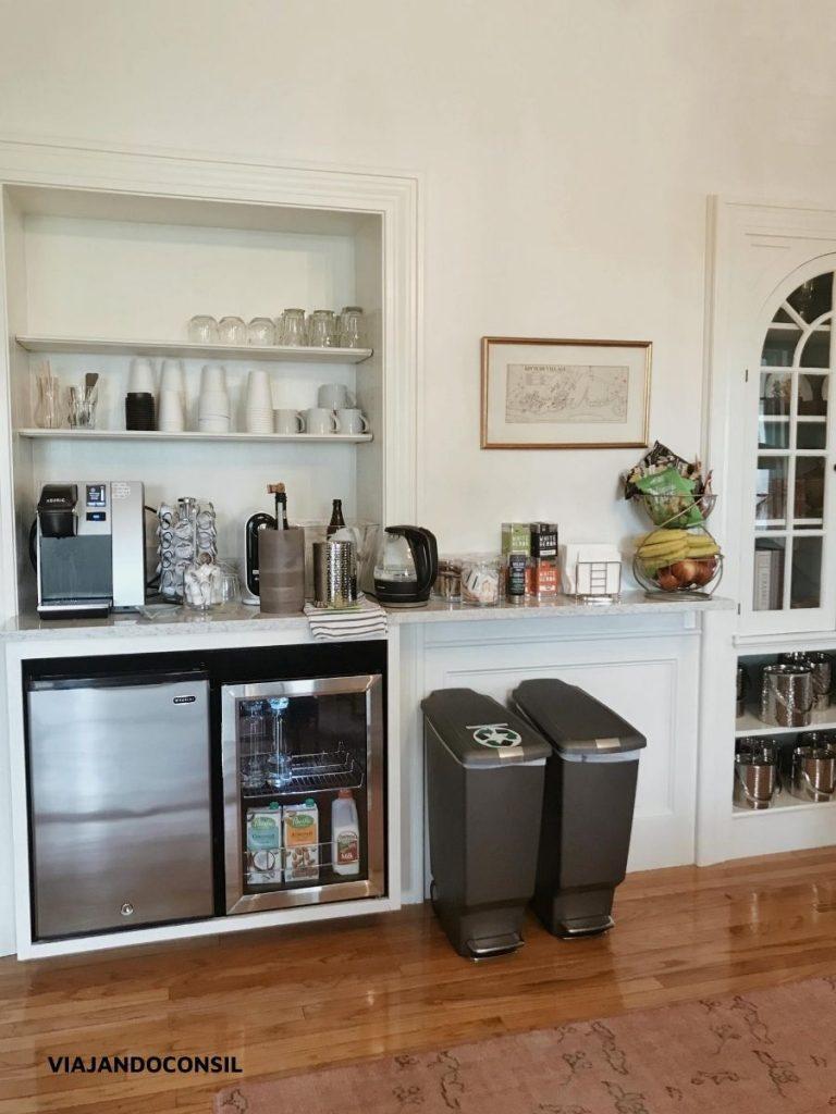 refrigerios en Water Street inn
