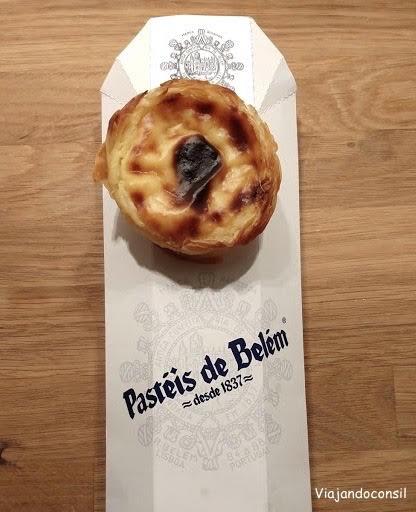 Pasteles de crema en Belem
