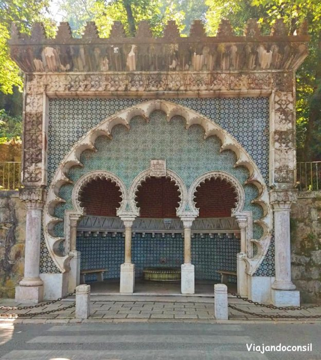 Fuente Morisca en Sintra